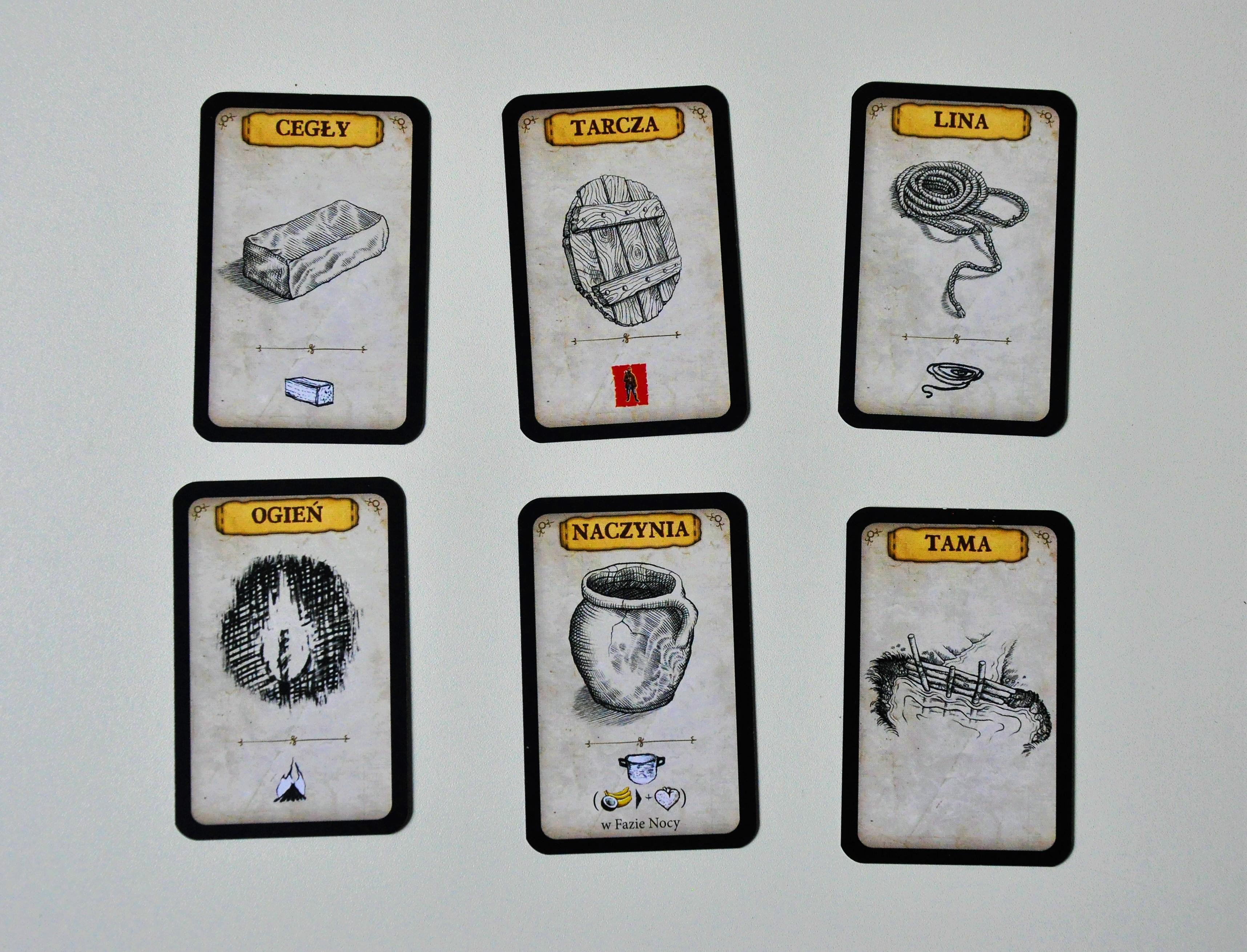 Przykładowe karty pomysłów, które możemy opracować wramach naszej akcji