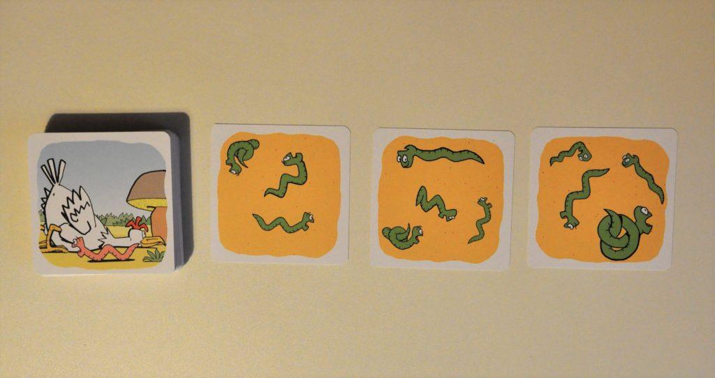 Talia wraz zwyłożonymi kartami