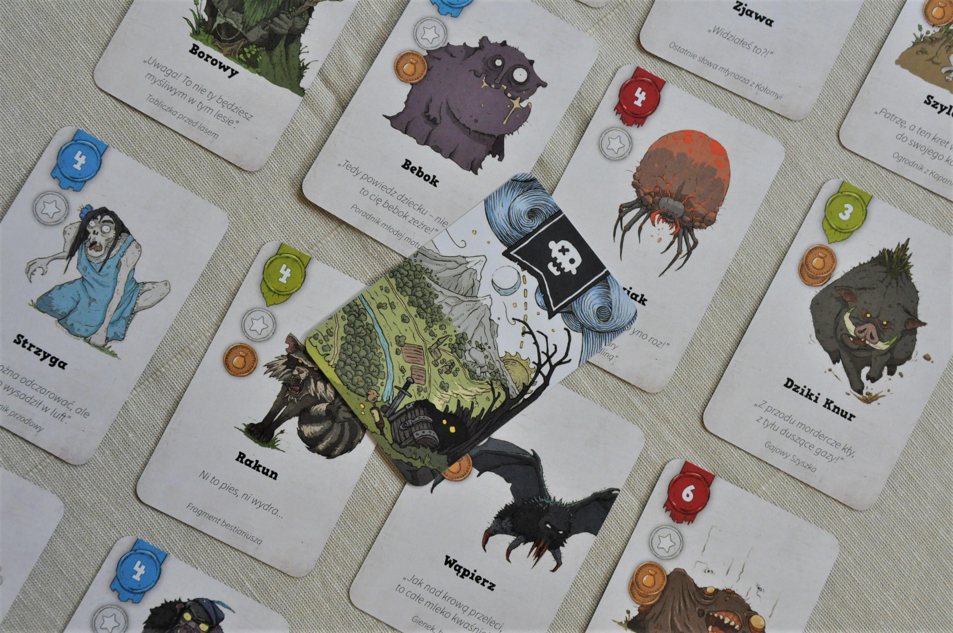 Karty potworów