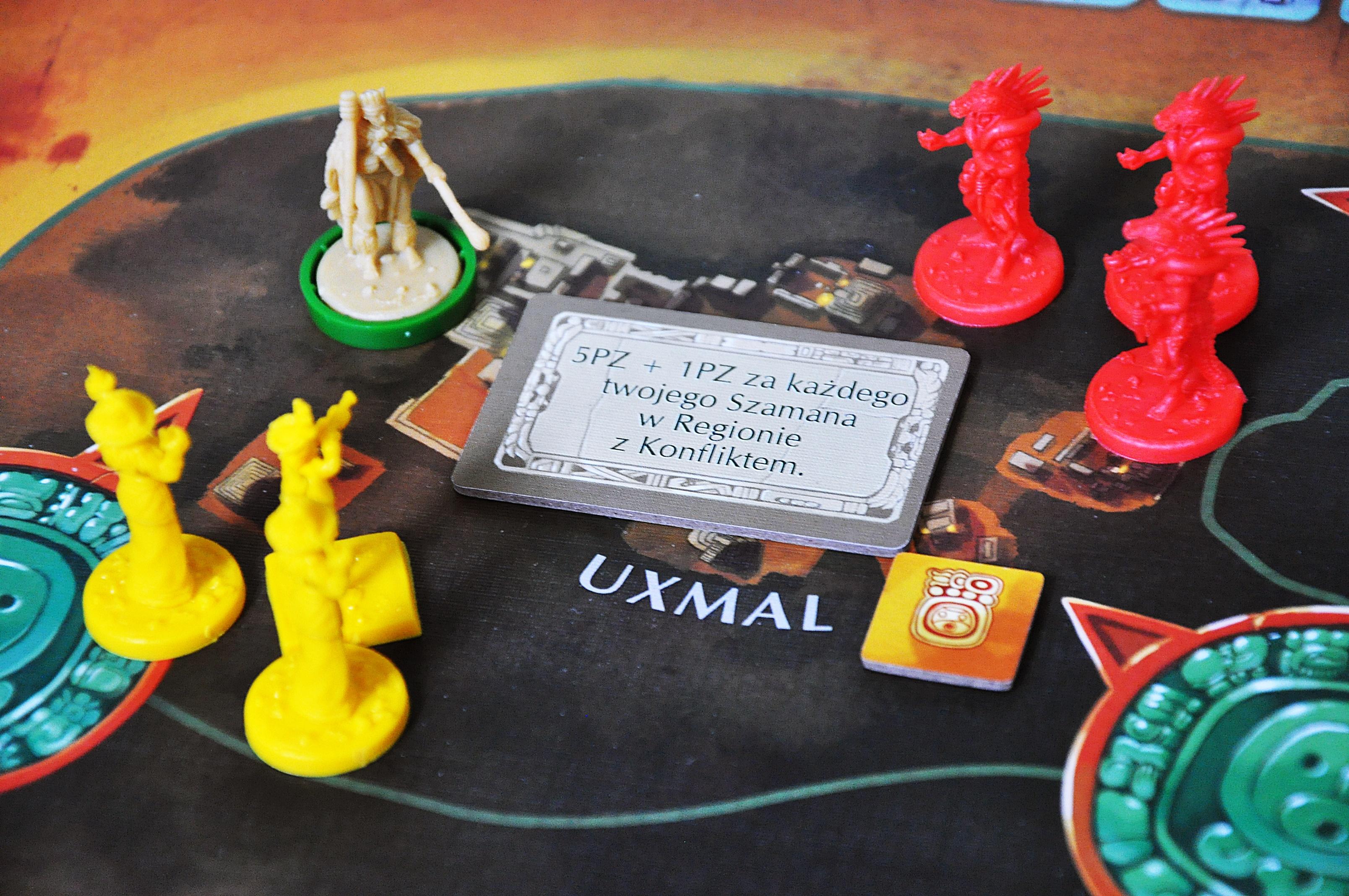 Rozpatrywanie konfliktu wregionie Uxmal