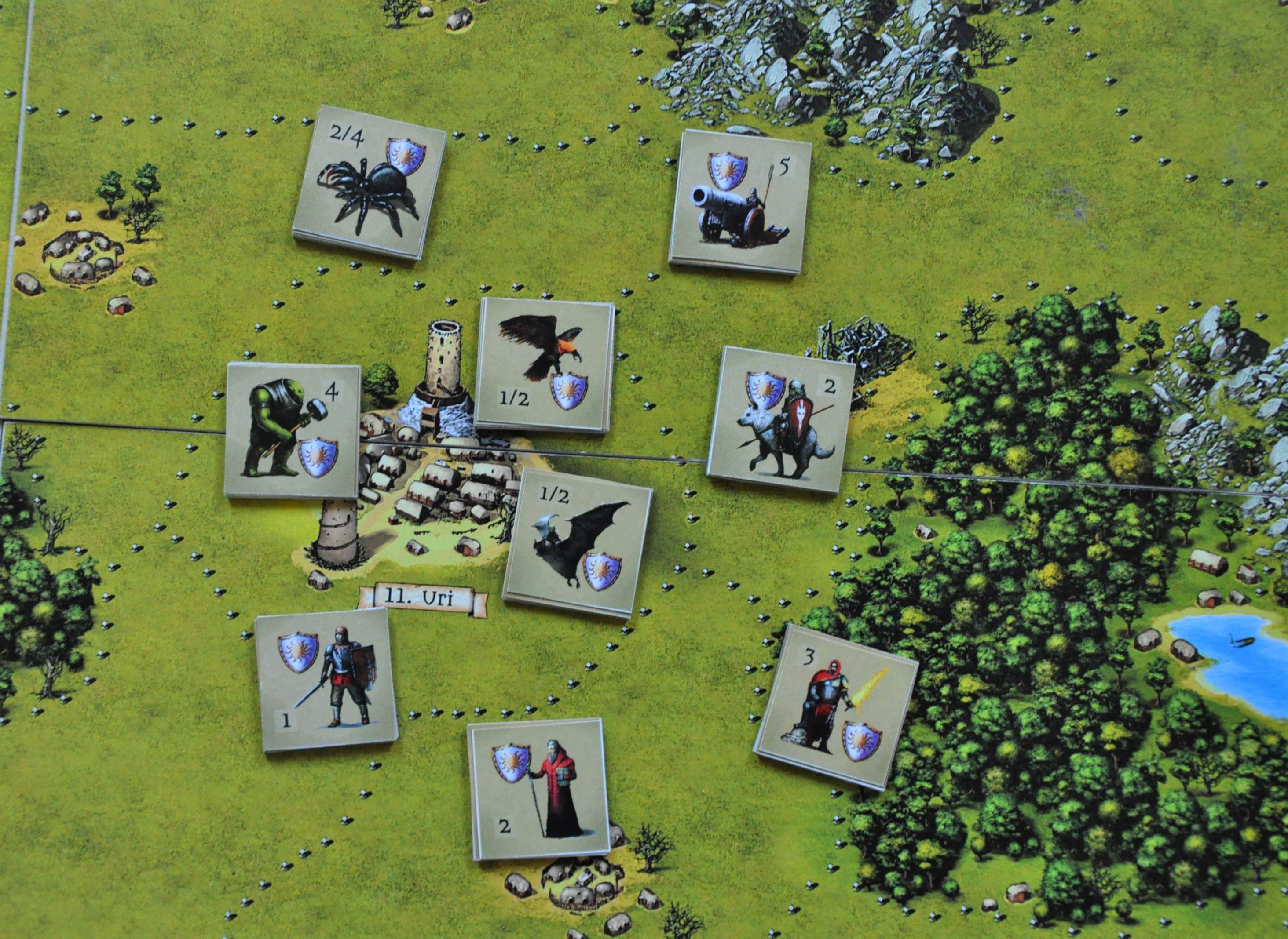 """Przykładowe jednostki wgrze """"War with Goblins"""""""